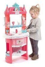 Kuhinje za djecu setovi - Set kuhinja Princeze Smoby obostrana s tornjevima i 19 dodataka i kozmetički stolić sa stolcem i kozmetička torbica_8