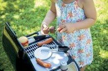 Obyčejné kuchyňky - Grill Barbecue Smoby s mechanickými funkcemi a zvukem a 18 doplňky 73 cm výška_0