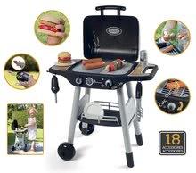 Obyčejné kuchyňky - Grill Barbecue Smoby s mechanickými funkcemi a zvukem a 18 doplňky 73 cm výška_2