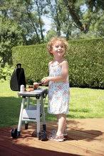 Obyčejné kuchyňky - Grill Barbecue Smoby s mechanickými funkcemi a zvukem a 18 doplňky 73 cm výška_8