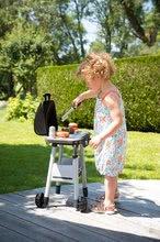 Obyčejné kuchyňky - Grill Barbecue Smoby s mechanickými funkcemi a zvukem a 18 doplňky 73 cm výška_11