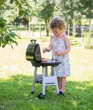 Obyčejné kuchyňky - Grill Barbecue Smoby s mechanickými funkcemi a zvukem a 18 doplňky 73 cm výška_9