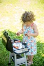 Obyčejné kuchyňky - Grill Barbecue Smoby s mechanickými funkcemi a zvukem a 18 doplňky 73 cm výška_12