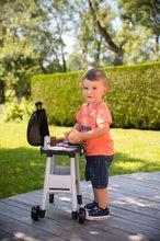 Obyčejné kuchyňky - Grill Barbecue Smoby s mechanickými funkcemi a zvukem a 18 doplňky 73 cm výška_16