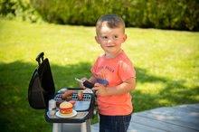 Obyčejné kuchyňky - Grill Barbecue Smoby s mechanickými funkcemi a zvukem a 18 doplňky 73 cm výška_17