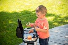 Obyčejné kuchyňky - Grill Barbecue Smoby s mechanickými funkcemi a zvukem a 18 doplňky 73 cm výška_18