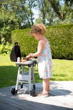 Obyčejné kuchyňky - Grill Barbecue Smoby s mechanickými funkcemi a zvukem a 18 doplňky 73 cm výška_20