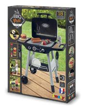 Obyčejné kuchyňky - Grill Barbecue Smoby s mechanickými funkcemi a zvukem a 18 doplňky 73 cm výška_21