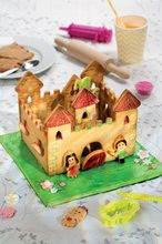 Kuhinje za djecu setovi - Set kuhinja Princeze Smoby obostrana s tornjevima i 19 dodataka i Razigrana kuharica Chef Kuća od medenjaka s receptima i kalupima za pečenje_17