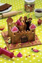 Kuhinje za djecu setovi - Set kuhinja Princeze Smoby obostrana s tornjevima i 19 dodataka i Razigrana kuharica Chef Kuća od medenjaka s receptima i kalupima za pečenje_19