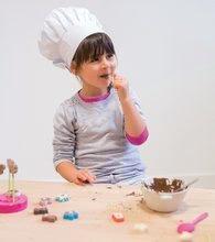 Kuchynky pre deti sety - Set kuchynka Tefal Studio BBQ Bublinky Smoby s magickým bublaním a Hravá kuchárka na výrobu čokoládových bonbónov_21