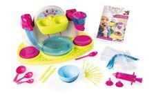 Hry na domácnost - Set úklidový vozík s elektronickým vysavačem Clean Smoby a čokoládovna_10