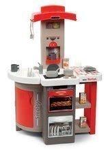Kuchynka skladacia Tefal Opencook Smoby červená s kávovarom a chladničkou a 22 doplnkov