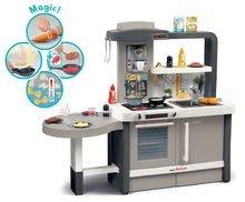 Kuchynky pre deti sety - Set kuchynka rastúca s tečúcou vodou Tefal Evolutive Smoby a mikrovlnka Tefal s hriankovačom a stoličkou KidChair_1