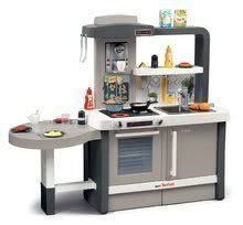 Kuchynky pre deti sety - Set kuchynka rastúca s tečúcou vodou Tefal Evolutive Smoby a mikrovlnka Tefal s hriankovačom a stoličkou KidChair_6