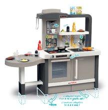 Kuchynky pre deti sety - Set kuchynka rastúca s tečúcou vodou Tefal Evolutive Smoby a mikrovlnka Tefal s hriankovačom a stoličkou KidChair_3
