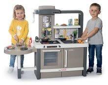 Kuchynky pre deti sety - Set kuchynka rastúca s tečúcou vodou Tefal Evolutive Smoby a mikrovlnka Tefal s hriankovačom a stoličkou KidChair_8