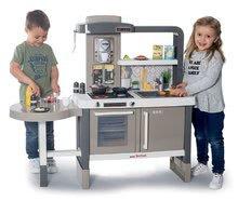 Kuchynky pre deti sety - Set kuchynka rastúca s tečúcou vodou Tefal Evolutive Smoby a mikrovlnka Tefal s hriankovačom a stoličkou KidChair_9