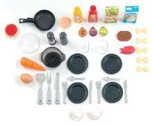 Kuchynky pre deti sety - Set kuchynka rastúca s tečúcou vodou Tefal Evolutive Smoby a mikrovlnka Tefal s hriankovačom a stoličkou KidChair_11