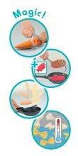 Kuchynky pre deti sety - Set kuchynka rastúca s tečúcou vodou Tefal Evolutive Smoby a mikrovlnka Tefal s hriankovačom a stoličkou KidChair_12