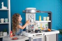 Kuchynky pre deti sety - Set kuchynka rastúca s tečúcou vodou Tefal Evolutive Smoby a mikrovlnka Tefal s hriankovačom a stoličkou KidChair_29