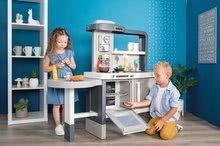 Kuchynky pre deti sety - Set kuchynka rastúca s tečúcou vodou Tefal Evolutive Smoby a mikrovlnka Tefal s hriankovačom a stoličkou KidChair_2