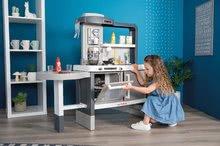 Kuchynky pre deti sety - Set kuchynka rastúca s tečúcou vodou Tefal Evolutive Smoby a mikrovlnka Tefal s hriankovačom a stoličkou KidChair_31