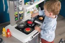 Kuchynky pre deti sety - Set kuchynka rastúca s tečúcou vodou Tefal Evolutive Smoby a mikrovlnka Tefal s hriankovačom a stoličkou KidChair_32