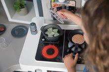 Kuchynky pre deti sety - Set kuchynka rastúca s tečúcou vodou Tefal Evolutive Smoby a mikrovlnka Tefal s hriankovačom a stoličkou KidChair_33