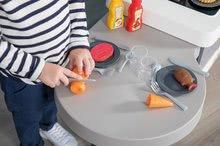 Kuchynky pre deti sety - Set kuchynka rastúca s tečúcou vodou Tefal Evolutive Smoby a mikrovlnka Tefal s hriankovačom a stoličkou KidChair_36