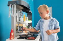 Kuchynky pre deti sety - Set kuchynka rastúca s tečúcou vodou Tefal Evolutive Smoby a mikrovlnka Tefal s hriankovačom a stoličkou KidChair_38