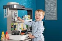Kuchynky pre deti sety - Set kuchynka rastúca s tečúcou vodou Tefal Evolutive Smoby a mikrovlnka Tefal s hriankovačom a stoličkou KidChair_41