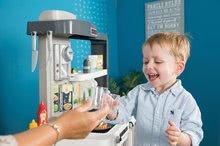 Kuchynky pre deti sety - Set kuchynka rastúca s tečúcou vodou Tefal Evolutive Smoby a mikrovlnka Tefal s hriankovačom a stoličkou KidChair_42