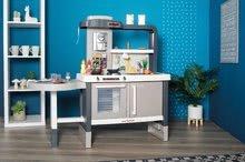 Kuchynky pre deti sety - Set kuchynka rastúca s tečúcou vodou Tefal Evolutive Smoby a mikrovlnka Tefal s hriankovačom a stoličkou KidChair_47