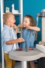 Kuchynky pre deti sety - Set kuchynka rastúca s tečúcou vodou Tefal Evolutive Smoby a mikrovlnka Tefal s hriankovačom a stoličkou KidChair_48