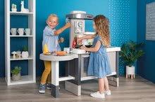 Kuchynky pre deti sety - Set kuchynka rastúca s tečúcou vodou Tefal Evolutive Smoby a mikrovlnka Tefal s hriankovačom a stoličkou KidChair_49
