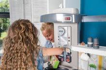 Kuchynky pre deti sety - Set kuchynka rastúca s tečúcou vodou Tefal Evolutive Smoby a mikrovlnka Tefal s hriankovačom a stoličkou KidChair_51