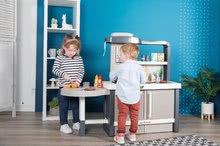 Kuchynky pre deti sety - Set kuchynka rastúca s tečúcou vodou Tefal Evolutive Smoby a mikrovlnka Tefal s hriankovačom a stoličkou KidChair_52