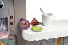 Kuchynky pre deti sety - Set kuchynka rastúca s tečúcou vodou Tefal Evolutive Smoby a mikrovlnka Tefal s hriankovačom a stoličkou KidChair_23