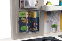 Kuchynky pre deti sety - Set kuchynka rastúca s tečúcou vodou Tefal Evolutive Smoby a mikrovlnka Tefal s hriankovačom a stoličkou KidChair_25