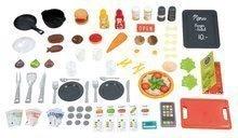 Elektronické kuchynky - Reštaurácia s elektronickou kuchynkou Chef Corner Restaurant Smoby s plotom a mikrovlnkou_11