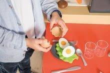 Elektronické kuchynky - Reštaurácia s elektronickou kuchynkou Chef Corner Restaurant Smoby s plotom a mikrovlnkou_20