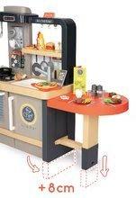 Elektronické kuchynky - Reštaurácia s elektronickou kuchynkou Chef Corner Restaurant Smoby s plotom a mikrovlnkou_40
