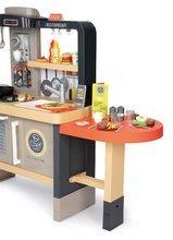 Elektronické kuchynky - Reštaurácia s elektronickou kuchynkou Chef Corner Restaurant Smoby s plotom a mikrovlnkou_41