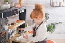Elektronické kuchynky - Reštaurácia s elektronickou kuchynkou Chef Corner Restaurant Smoby s plotom a mikrovlnkou_52