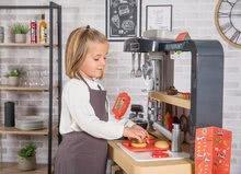 Elektronické kuchynky - Reštaurácia s elektronickou kuchynkou Chef Corner Restaurant Smoby s plotom a mikrovlnkou_60