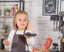 Elektronické kuchynky - Reštaurácia s elektronickou kuchynkou Chef Corner Restaurant Smoby s plotom a mikrovlnkou_31