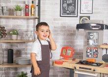 Elektronické kuchynky - Reštaurácia s elektronickou kuchynkou Chef Corner Restaurant Smoby s plotom a mikrovlnkou_80