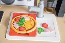 Elektronické kuchynky - Reštaurácia s elektronickou kuchynkou Chef Corner Restaurant Smoby s plotom a mikrovlnkou_88