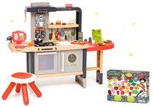 Kuchynky pre deti sety - Reštaurácia s elektronickou kuchynkou Chef Corner Restaurant Smoby a potraviny s riadom 50 dielov_83